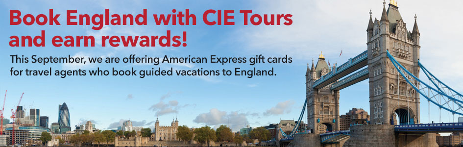 Book England with CIE Tours