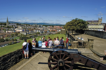 Walking Tour on Medieval Walls of Derry