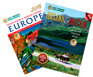 Ireland, Britain, Scotland, Wales, and Europe Tour Brochures