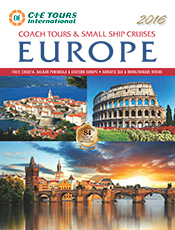 View the CIE Tours Europe 2016 Brochure