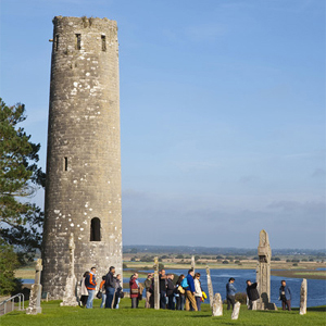 Clonmacnoise Monastic Site and Shannon River