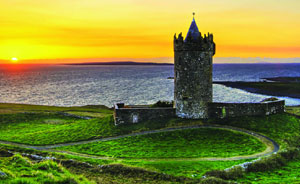Doonagore Castle, Co. Clare Ireland