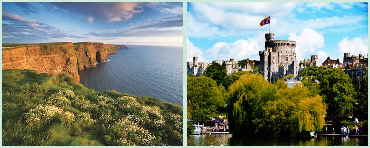 Escorted Coach Tours of Ireland and Britain, the perfect Irish and English vacation