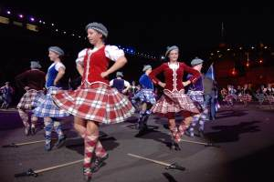 Traditional Scottish Dancers