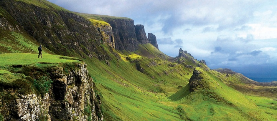 The majestic Scottish Highlands