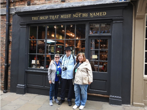 The Shop That Must Not Be Named, Shambles Market, York, UK