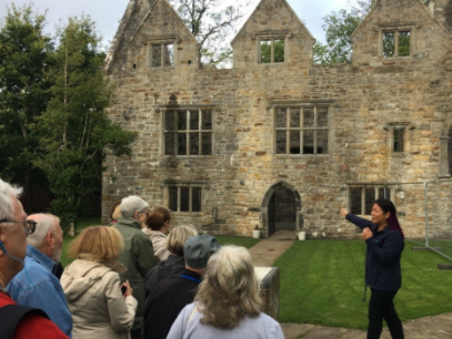 Our guests enjoying their tour of Donegal Castle, Donegal, Ireland