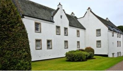 One section of Macdonald Houstoun House, our first hotel in Scotland