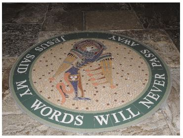 Mosaic, Down Cathedral
