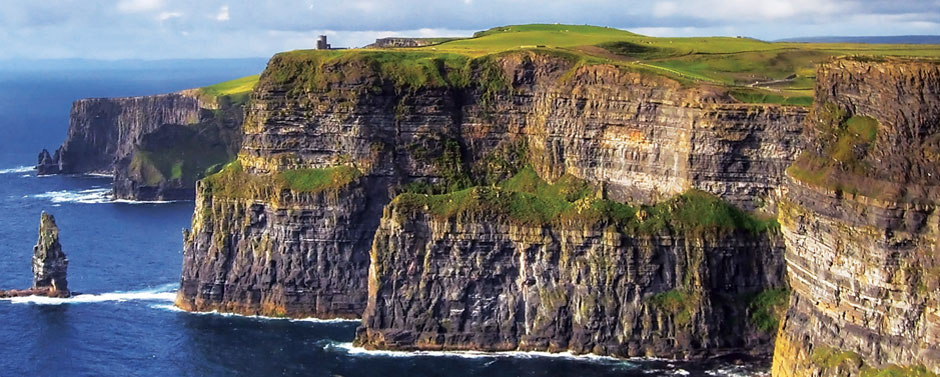 Explore the magnificent Cliffs of Moher on your 2016 Ireland vacation with CIE Tours