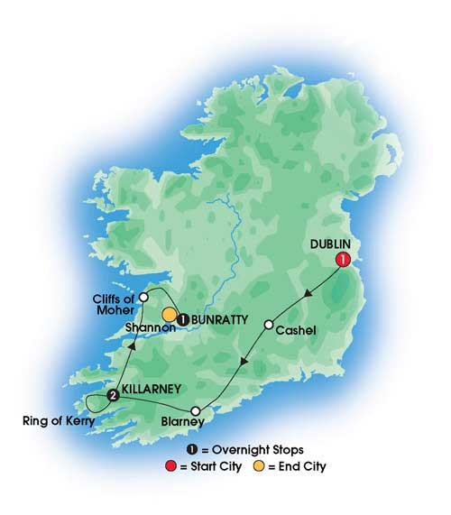 Taste Of Ireland 5 Day Tour