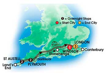 English Southern Gems 9 Day Escorted Tour
