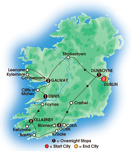 Elegant Ireland 10 Days