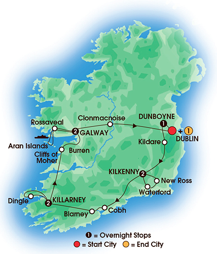 Irish Legends Days Nights Navigator Travel Jun - Irish legends