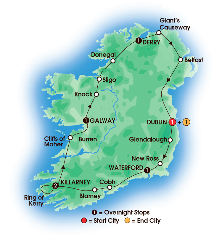 Ireland Vacations Escorted Tours Cie Tours