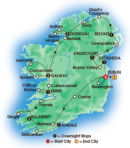 Cie Tours  Ireland