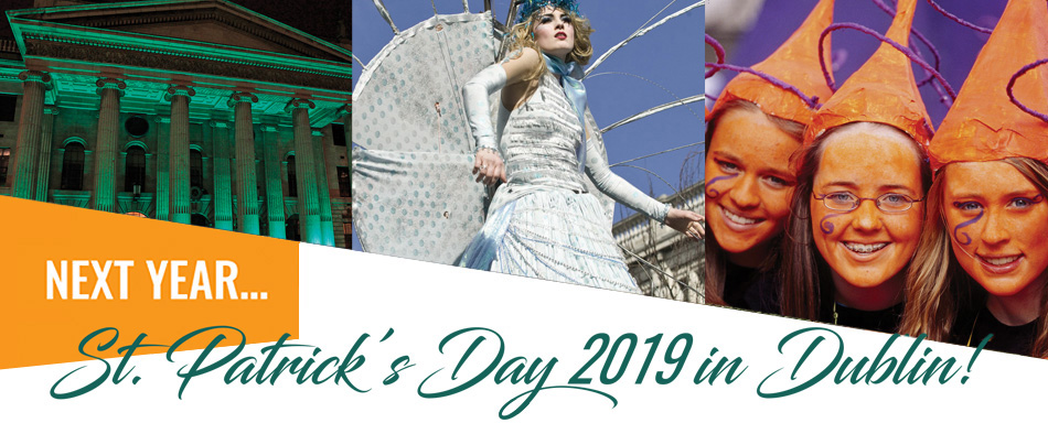 St. Patrick's Day 2019 in Dublin promotion